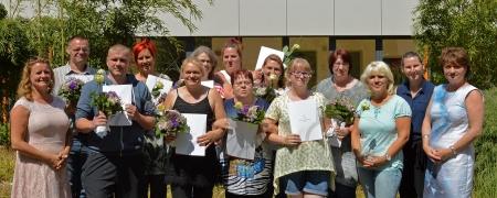 Pflegerische Stationsassistenten ins Berufsleben entlassen